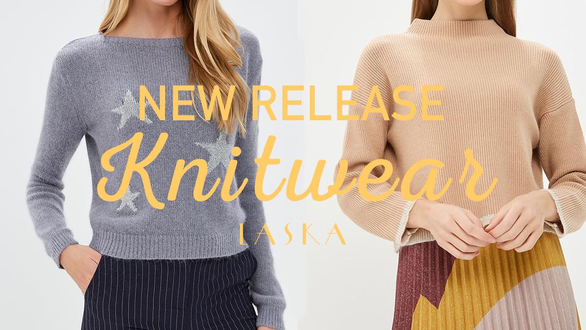 LASKA NEW RELEASE knitwear